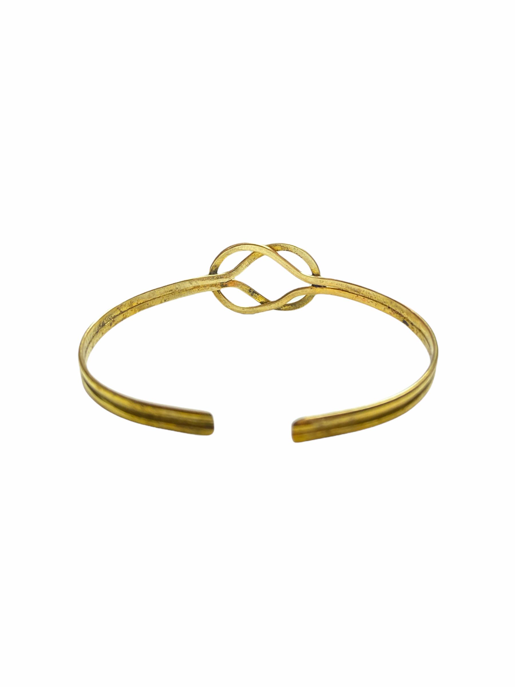 Βραχιόλι Χειροποίητο Tribal Σχήμα Σε Χρυσό Χρώμα