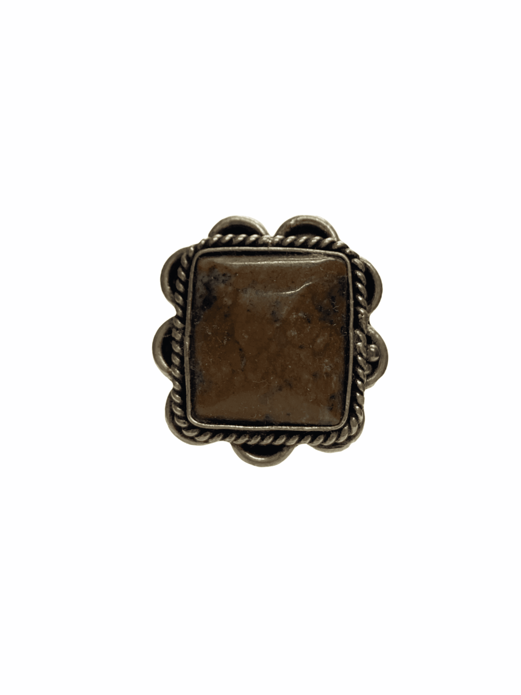 Δαχτυλίδι Χειροποίητο Με Ίασπη Ασημί