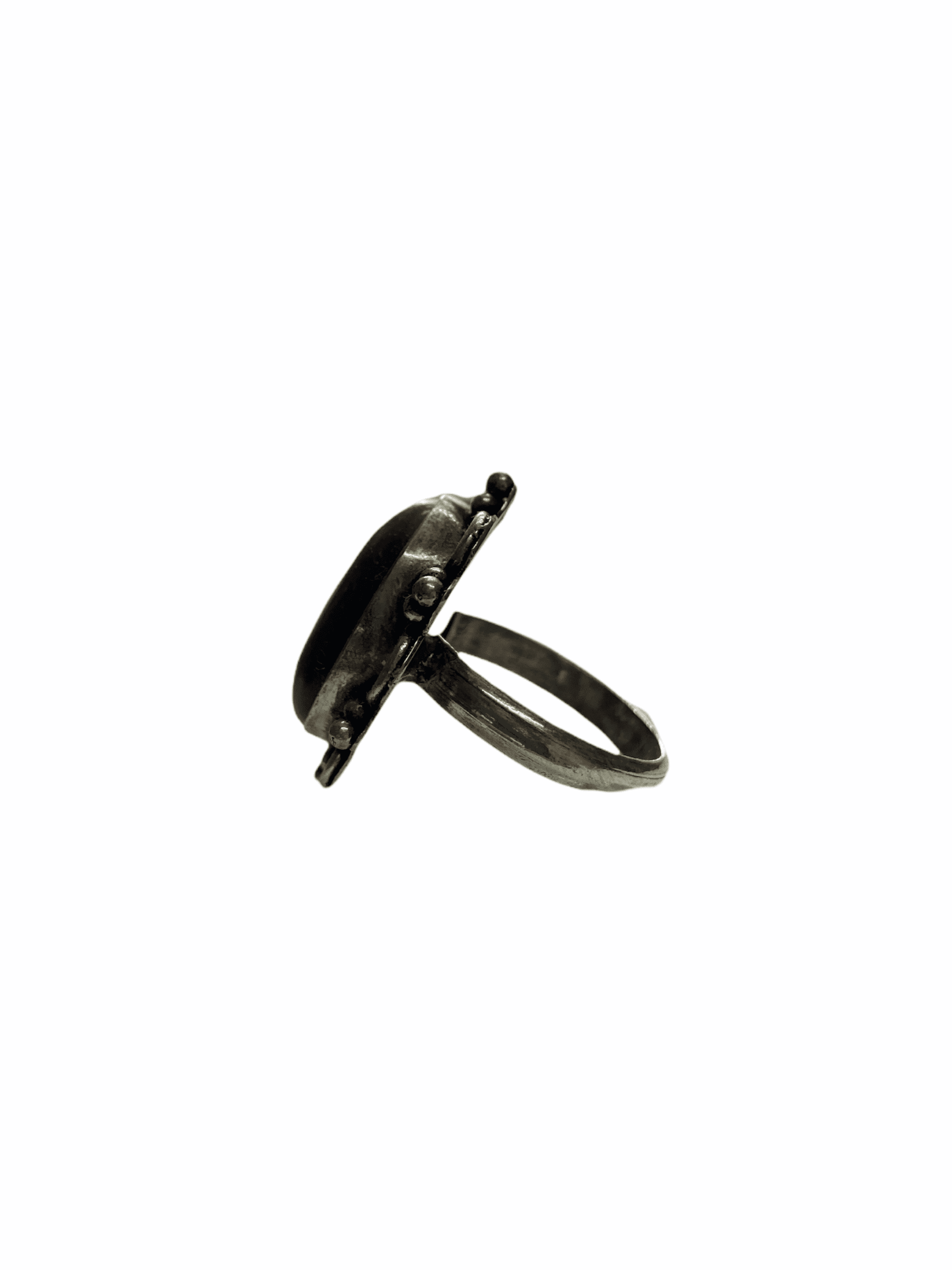 Δαχτυλίδι Χειροποίητο Με Ίασπι Ασημί